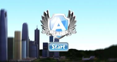 Screenshot of A-plane flight simulator 3D
