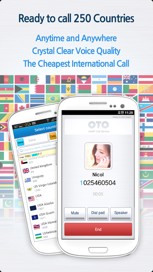 OTO Global International Call - screenshot