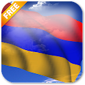 3D Armenia Flag Live Wallpaper icon