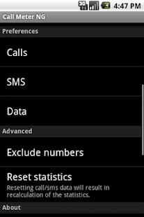 App Call Meter NG APK for Windows Phone