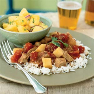 Indian-Spiced Pork in Tomato Sauce.
