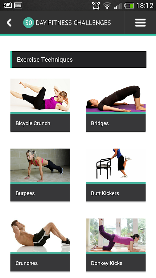 30 Day Fitness Challenges - Android Apps on Google Play
