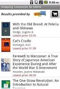 Shopping Companion for Alibris- screenshot thumbnail