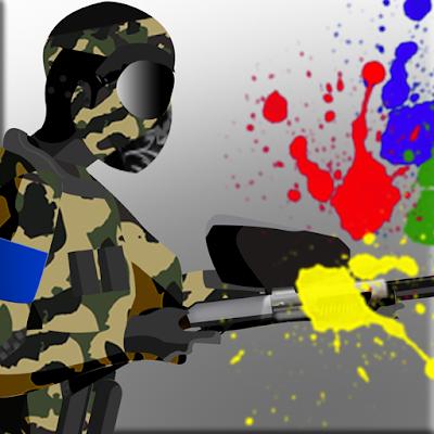 Paintball War Zone commando
