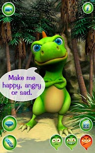 Talky Don The Dinosaur HD FREE - screenshot thumbnail