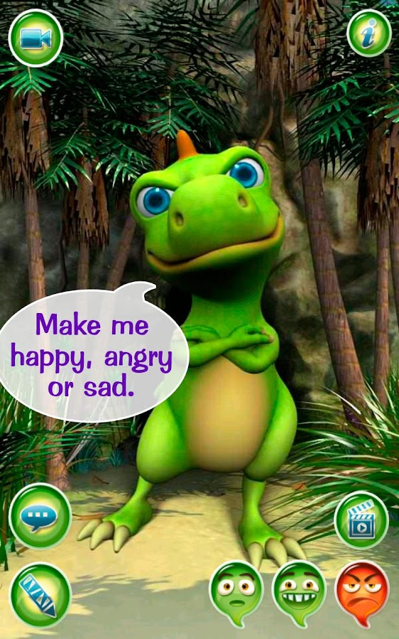 Talky Don The Dinosaur HD FREE- screenshot