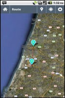 Screenshot of SOS GPS FJ