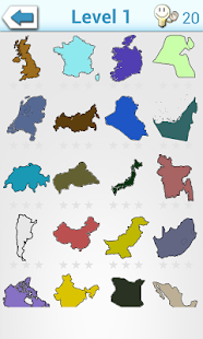 World map quiz puzzle apps on google play screenshot image gumiabroncs Images