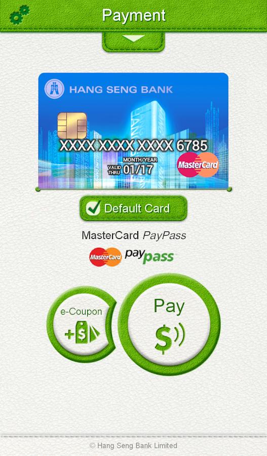 Hang Seng Mobile Application- screenshot
