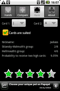 Poker Assistandroid- screenshot thumbnail
