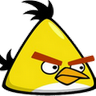 Angry Birds Yellow Clock icon