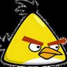 Angry Birds Yellow Clock icon