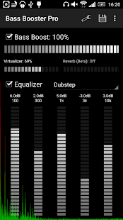 Bass Booster Pro Screenshot