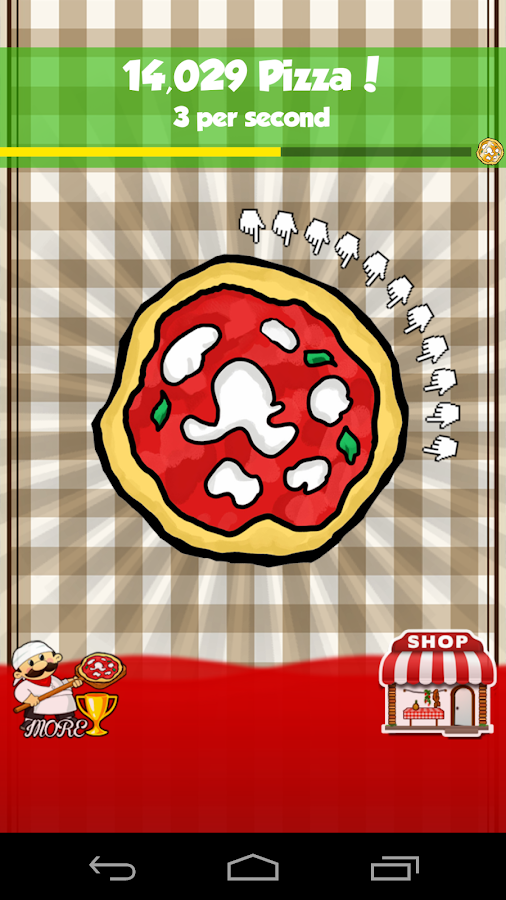 Pizza Clickers- screenshot