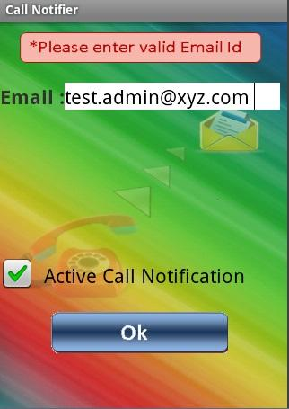 Incoming Call Notifier
