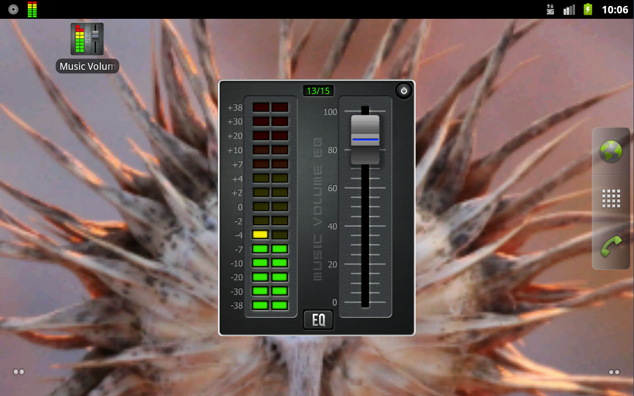 Music Volume EQ - screenshot