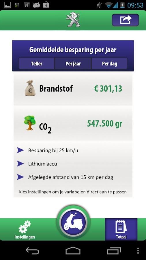 Peugeot EH - screenshot