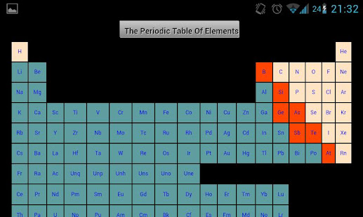 Periodic table of elements apps on google play screenshot image urtaz