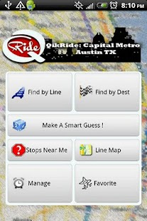 QikRide: Capital Metro Austin- screenshot thumbnail