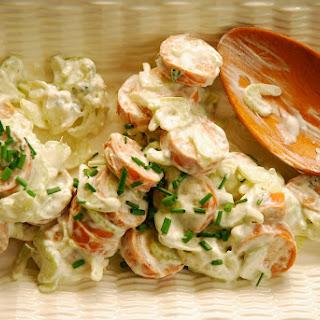 Buffalo Chicken Sausage Salad