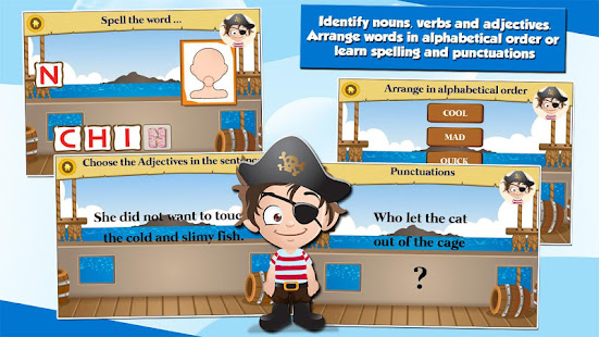 Pirate Kids 2nd Grade Games - Apps on Google Play