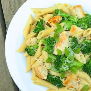 Chicken Broccoli Pasta with Lemon Butter Sauce.