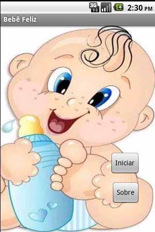 bebe feliz