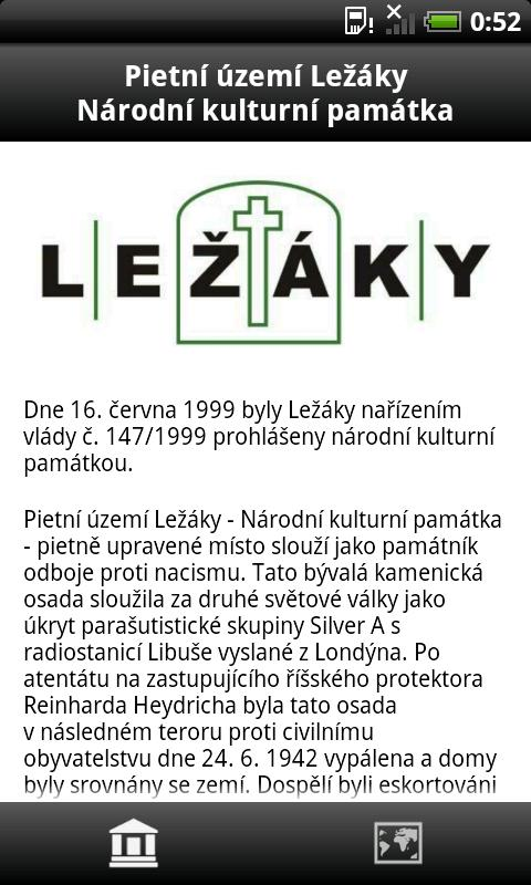 NKP Ležáky- screenshot