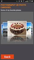 Screenshot of 3D Photo Carousel