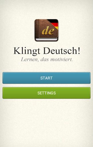 Klingt Deutsch