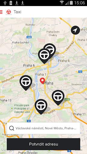 upTAXI - taxi pro Prahu