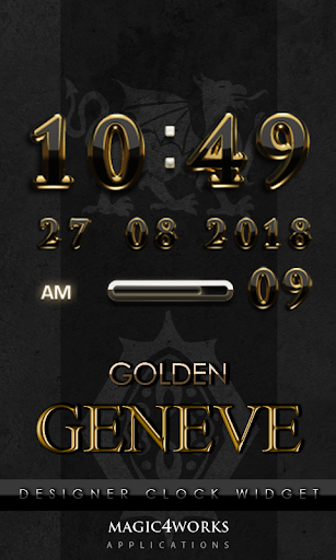Geneve Digital Clock Widget
