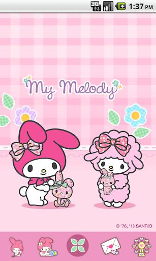 My Melody Rabbit Doll Theme
