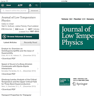 J of Low Temperature Physics- screenshot thumbnail