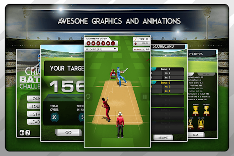 Free Cricket Batting Challenge 2014 APK for Windows 8