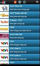 phần mềm xem tivi online cho Android 2