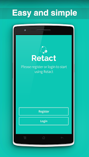 Retact Contact Manager- screenshot thumbnail