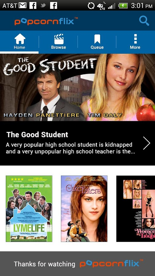 Popcornflix™-Great Movies Free - screenshot
