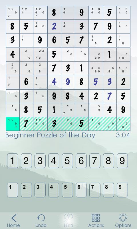Sudoku Of The Day screenshot #3