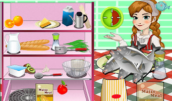 Screenshot of Finland Fish Cooking