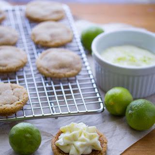 Key Lime Pie Sandwich Cookies