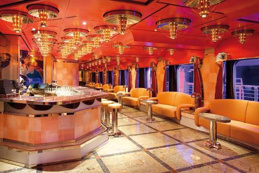 Costa-Deliziosa-Vanilla-Bar - The Vanilla Bar, a popular gathering spot on deck 3 of Costa Deliziosa.