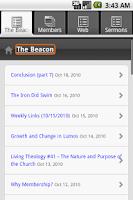 Screenshot of Lighthouse Bible Church