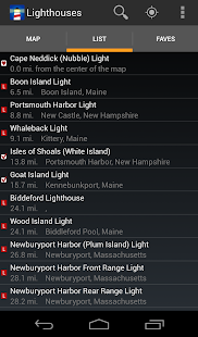 Lighthouse Locator screenshot