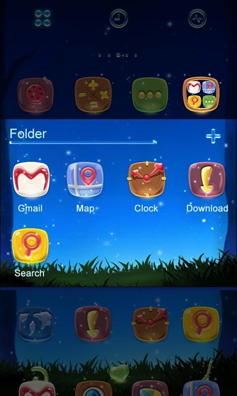 Bearabbit  GO Launcher Theme - screenshot