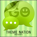 GO SMS Theme Candy Green icon