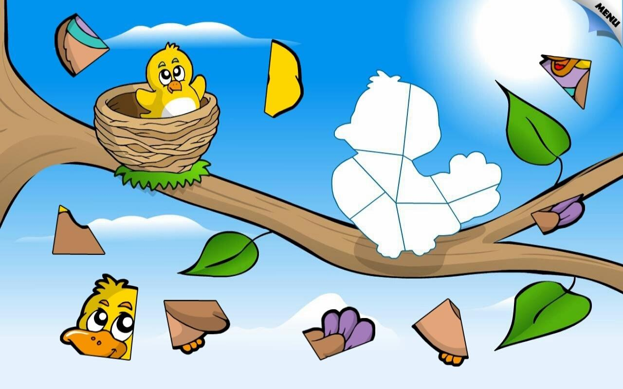 Kids Animal Preschool Puzzle- screenshot
