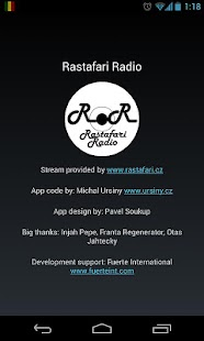 Rastafari Radio- screenshot thumbnail
