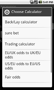 Bet Calculator 8 in 1 - screenshot thumbnail