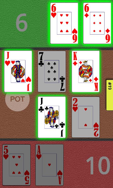 Poker Coin Flip - screenshot